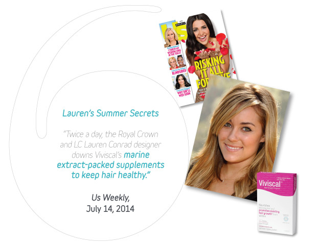 Lauren Conrad talks about Viviscal and summer beauty