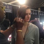 Backstage with Ted Gibson at New York Fashion Week