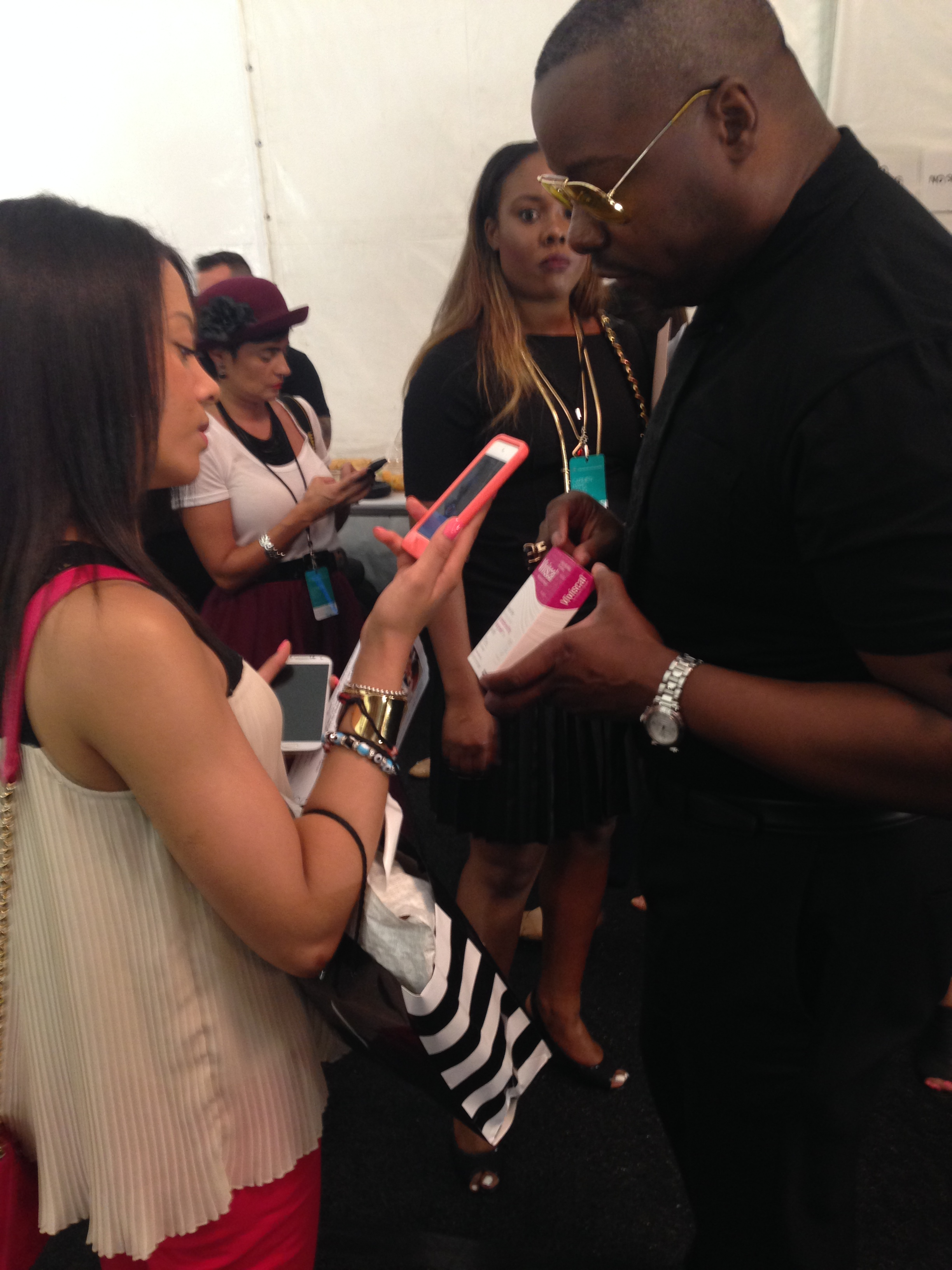 Ted Gibson recommends Viviscal to models and other clients for healthy hair growth