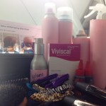 Spotted - Viviscal Extra Strength on the styling station at New York Fashion Week