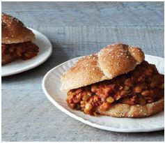 Recipe for Healthy Hair lentil sloppy joes