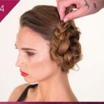 hair how to style a messy side bun - VUK Neil Moodie