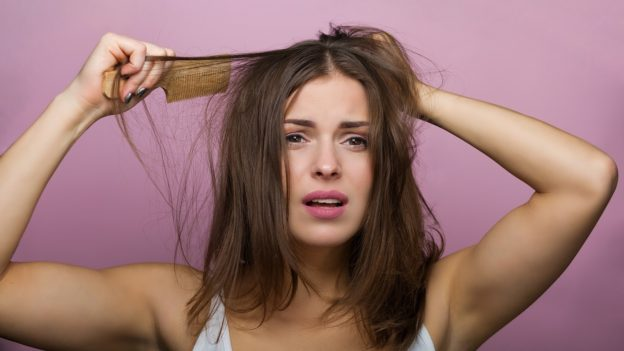 how to get rid of knotted hair