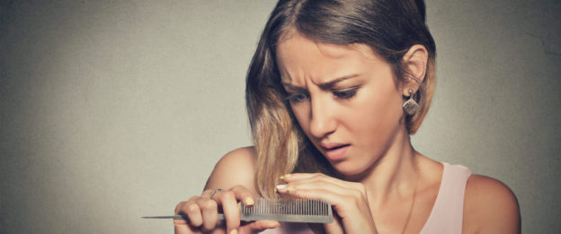 Covering thinning hair in women