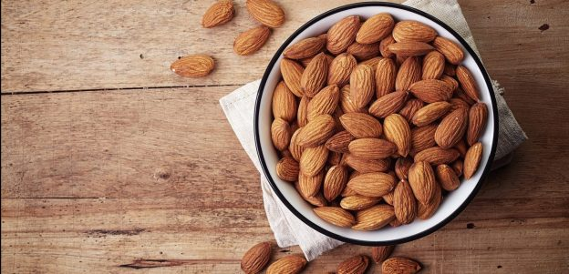 Almonds-healthy-hair-growth