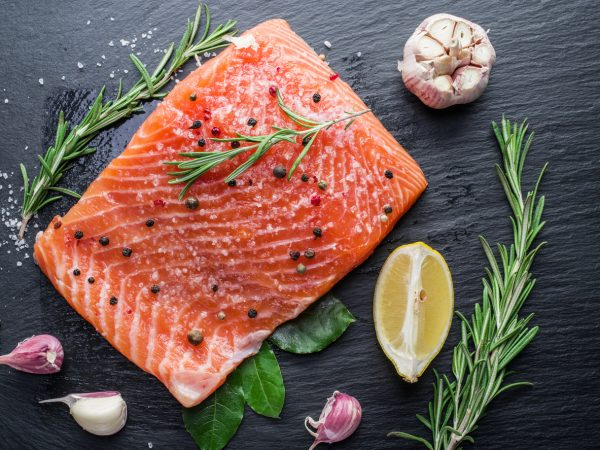 salmon healthy diet protein causes of patchy hair loss vivscal