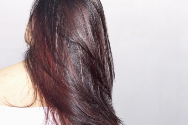 deep burgundy dark brunette hair back long hair new fall hair color viviscal hair blog