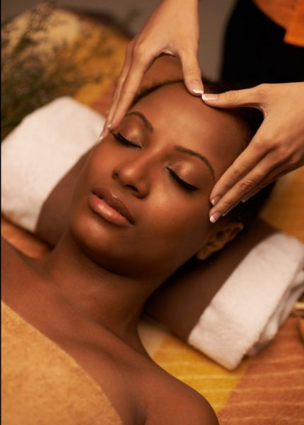 Scalp massage natural curly hair african american woman relaxed how to grow natural hair viviscal blog