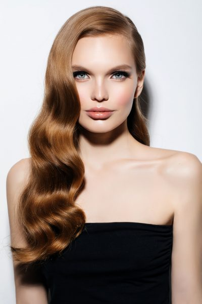 retro-vintage-waves-curly-hair-auburn-hair-woman-best-formal-hairstyles-long-hair