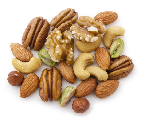 mixed nuts best foods for thicker healthier hair viviscal blog