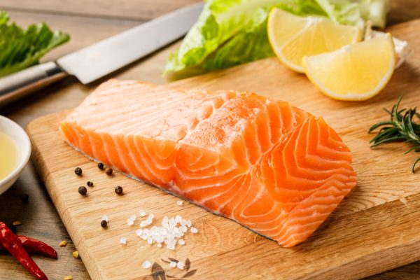 salmon filet best foods for thicker healthier hair viviscal blog