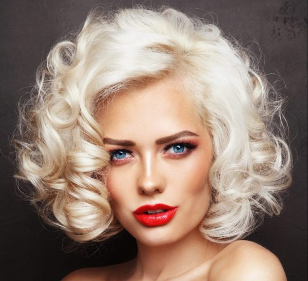 Vintage blonde retro 1950 pin curls revisiting retro hairstyles viviscal hair blog
