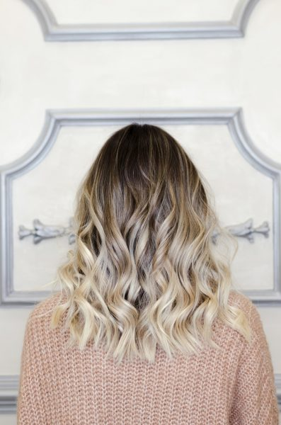 balayage hair color blonde back viviscal hair blog
