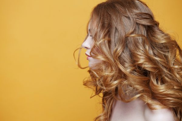 curly red hair woman best volume tips fine thin hair viviscal hair blog