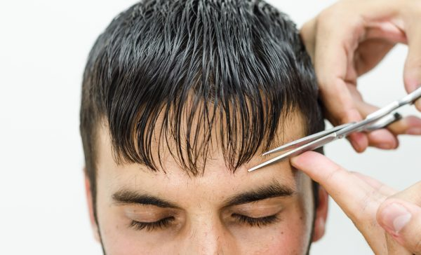 caesar haircut cut bangs scissors wet hair hot 2019 hairstyles for men viviscal hair blog