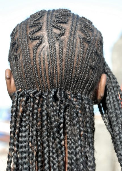 back of head with cornrows braids tips for using braid extensions viviscal hair blog