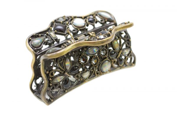 jeweled embellished hair clip adding to your look with hair accessories viviscal hair blog