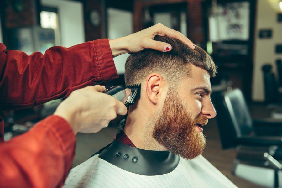 man salon chair barber beard shaving modern bowl cut haircut how often should males get a haircut? viviscal hair blog