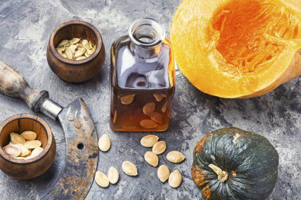 pumpkin seed oil hair mask