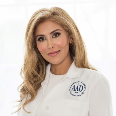 A picture of Dr. Elizabeth Bahar Houshmand, a double board-certified dermatologist