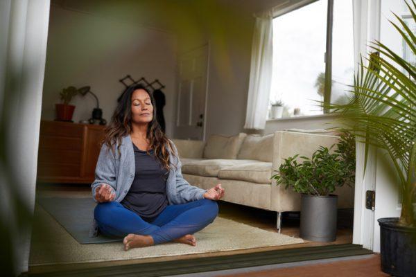 Salud de año nuevo: meditación